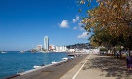 Fort de France promenade - Martinique. Tropical island royalty free stock photos