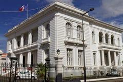 Fort de Francestadhuis - Martinique royalty-vrije stock fotografie