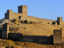 Fort de Gênes Images libres de droits