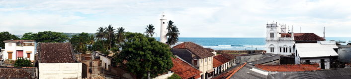 Fort de Galle, Sri Lanka Photo stock