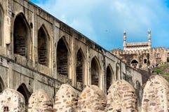 Fort de Golconda, Hyderabad - Inde photos stock
