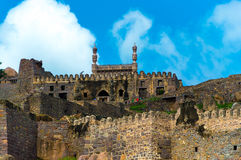 Fort de Golconda, Hyderabad - Inde image stock