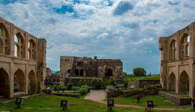 Fort de Golconda, Hyderabad - Inde photo stock