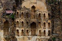 Fort de Golconda, Hyderabad - Inde Images stock