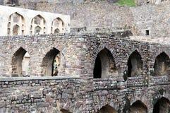 Fort de Golconda, Hyderabad - Inde Images libres de droits