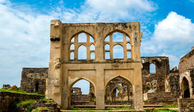 Fort de Golconda, Hyderabad - Inde photographie stock