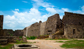 Fort de Golconda, Hyderabad - Inde photo libre de droits
