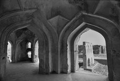 Fort de Golcunda en Hyderabad-Inde. Photos libres de droits