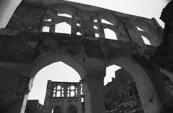 Fort de Golcunda en Hyderabad-Inde. Images stock