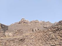 Fort de Golcunda photographie stock