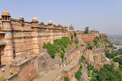 Fort de Gwalior Photos stock