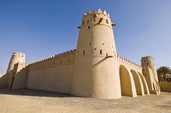 Fort de Jahili d'Al - fort intérieur Images stock