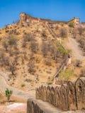 Fort de Jaigarh à Jaipur, Inde Photo libre de droits