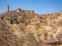 Fort de Jaigarh à Jaipur, Inde Photo stock