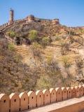 Fort de Jaigarh à Jaipur, Inde Image libre de droits