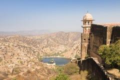 Fort de Jaigarh, ambre, Ràjasthàn Image libre de droits
