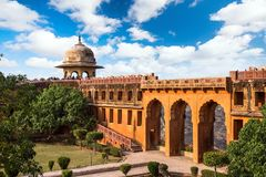 Fort de Jaigarh Amer Fort l'Inde Images stock