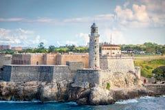 Fort de La Havane, Cuba image libre de droits