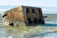 Fort de Liepaja Royaltyfria Foton