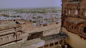 Fort de Mehrangarh Images libres de droits
