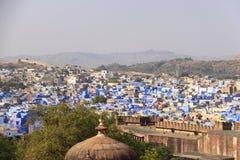 Fort de Mehrangarh et ville de Jodhpur Rajastan, Inde, 5ème, janvier photo libre de droits
