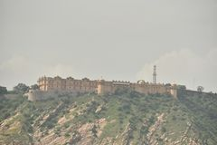 Fort de Nahargarh, Jaipur, Ràjasthàn photo stock