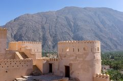 Fort de Nakhl, Oman photographie stock