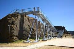 Fort de Niebla, Chili Images libres de droits