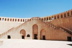 Fort de Nizwra, Oman Image libre de droits