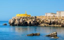 Fort de Peniche portugal images stock