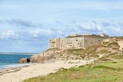 Fort de Penthievre, France Image stock