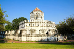 Fort de Phra Sumen à Bangkok Images stock