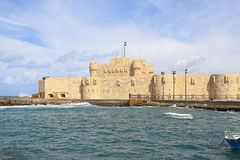 Fort de Qaitbay image libre de droits