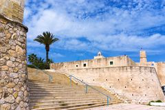 Fort de Ribat dans Monastir, Tunisie photos libres de droits