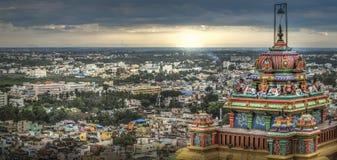 Fort de roche de Tiruchirapalli Images libres de droits