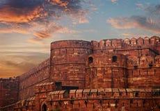 Fort de rouge de l'Inde, Âgrâ photographie stock