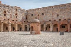 Fort de Salses Arkivfoton