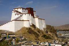 Fort de Samdrubtse Dzong Photo stock