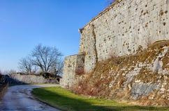 Fort de St-André dans Salins-les-Bains Photos stock