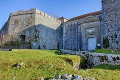 Fort de St-André dans Salins-les-Bains Photographie stock