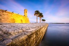 Fort de St Augustine, la Floride Images libres de droits