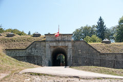 Fort De tamie in France Royalty Free Stock Image
