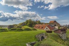 Fort de Varberg en Suède Photos stock