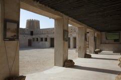 Fort de Zubara à l'intérieur de passage Photographie stock