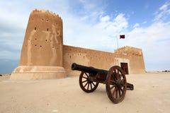Fort de Zubarah au Qatar photographie stock