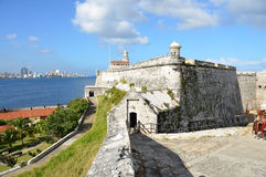 Fort del Castillio Morro- Havana - Cuba Royalty Free Stock Photo