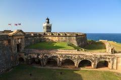 Fort Del Morro Stock Photo