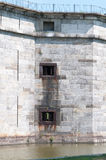 FORT DELAWARE, DELAWARE CITY, DE - AUGUST 1: Fort Delaware State Park, Historic Union Civil War Fortress that housed Stock Image