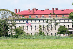 FORT DELAWARE, DELAWARE CITY, DE - AUGUST 1: Fort Delaware State Park, Historic Union Civil War Fortress that housed Royalty Free Stock Image