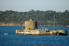 Fort denison à Sydney Images stock